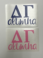 Image for the Delta Gamma Alumna Decal product