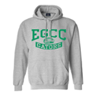 Image for the Hooded Sweatshirt Gray w/ One Color Print product