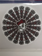 "Image for the 6"" OWU Mandala Vinyl Decal product"