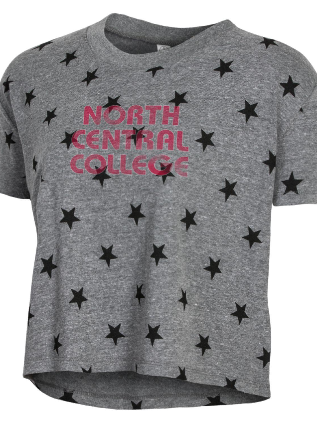 Image for the North Central College Eco Headliner Crop Tee by Alternative product