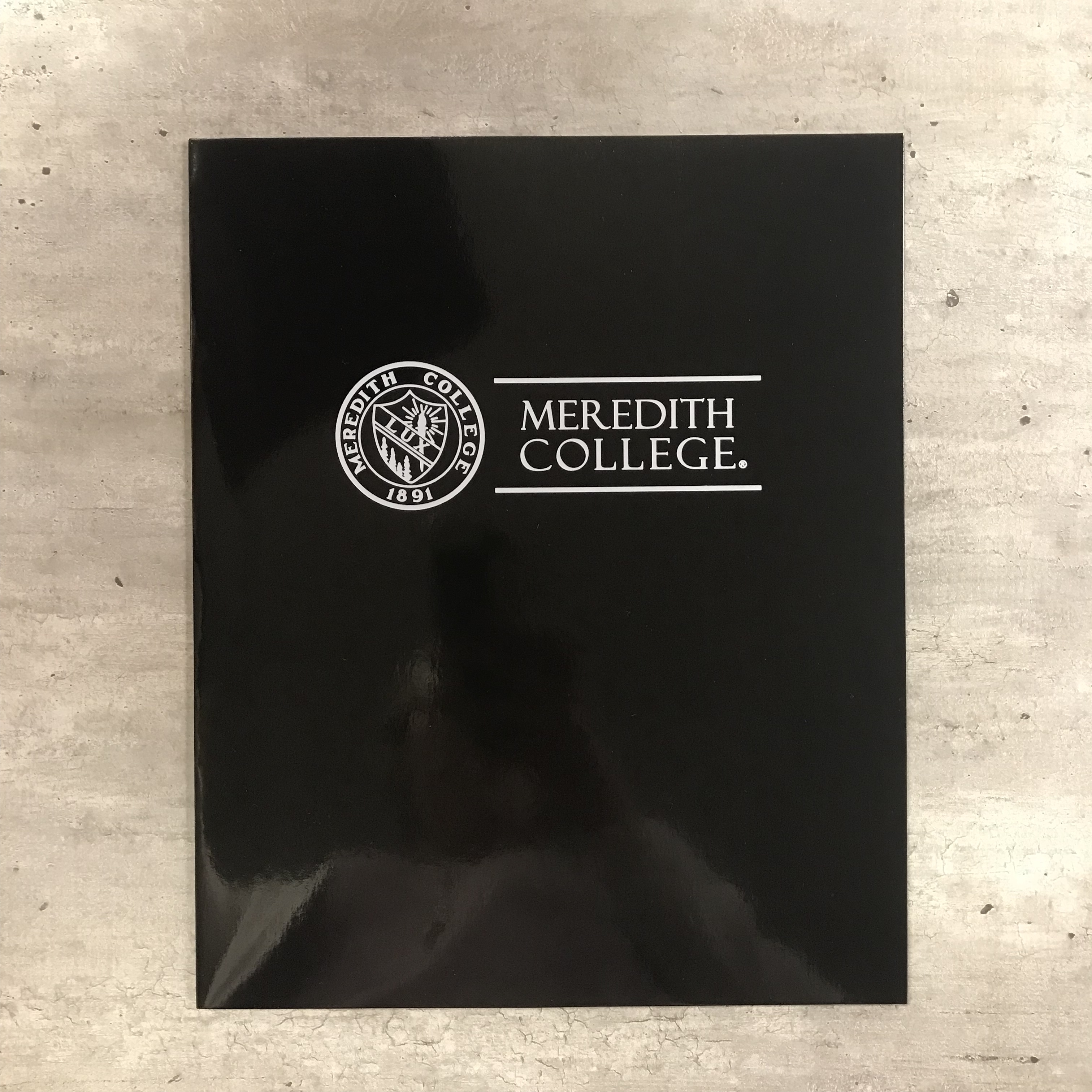 Alternative Image for the Pocket Folder, Seal Meredith College product