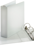 Image for the Cardinal Economy/Value Non-Locking Round Ring View Binder(White) 3in. product