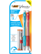 Image for the Bic Velocity Mechanical  Pencil 2pk 0.9mm product