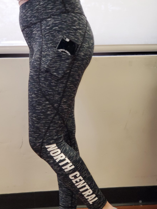 Image for the North Central College Intention Pocket Legging by Zoozatz product