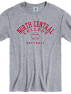 Image for the North Central College Softball Tee Shirt by New Agenda product