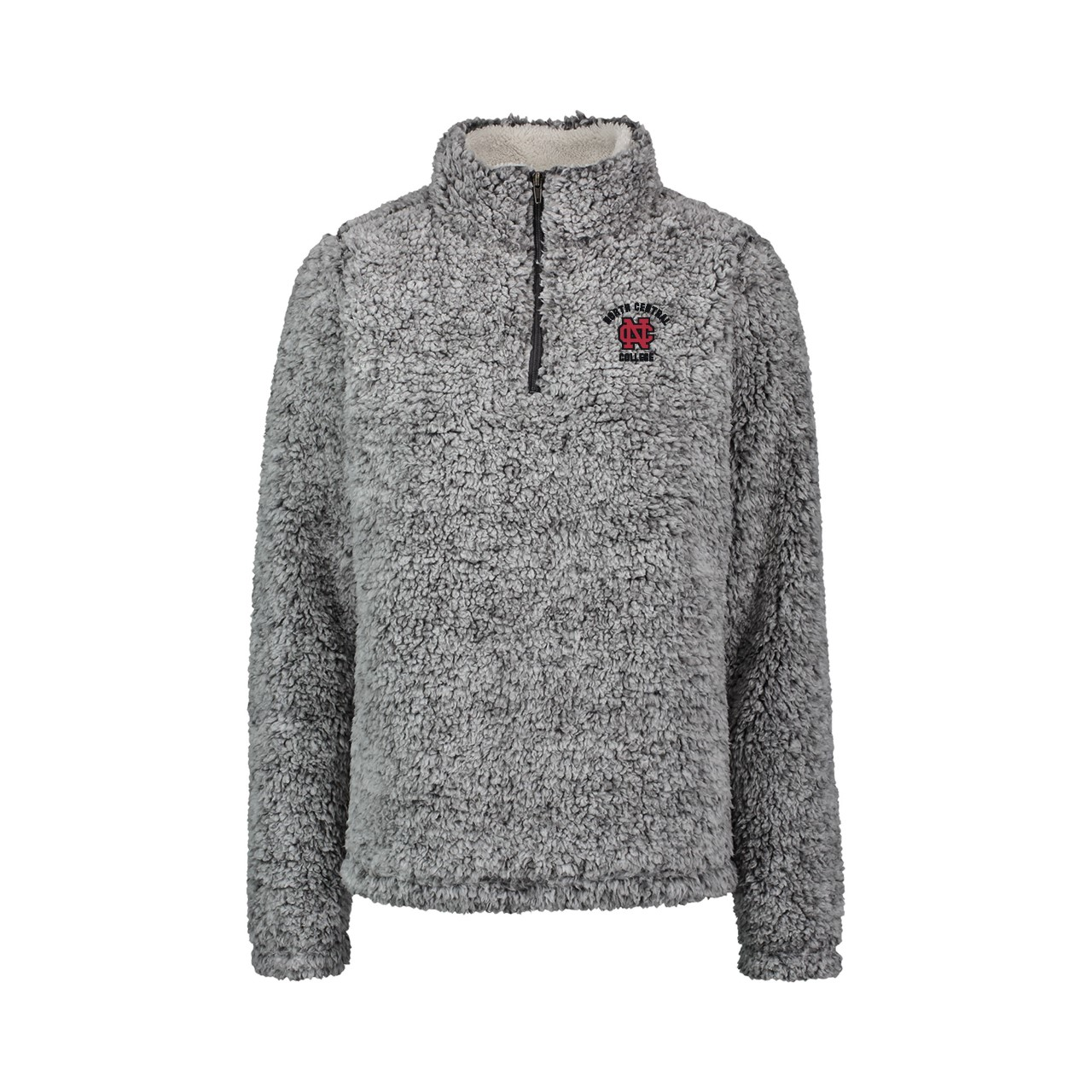 Alternative Image for the North Central College Addison 1/4 Zip Sherpa by MV Sport product