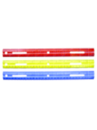 Image for the Officemate Achieva Plastic Ruler(Assorted)12in. product