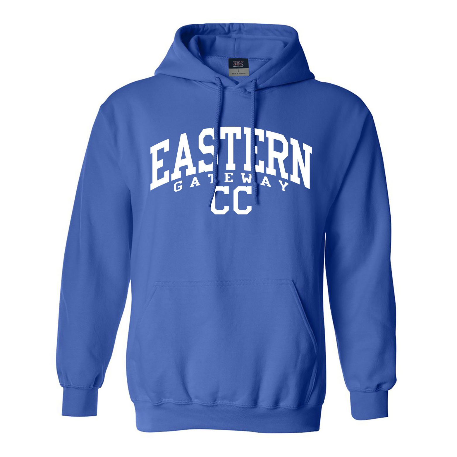 Alternative Image for the Hooded Sweatshirt EASTERN GATEWAY CC in white product