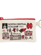 Image for the North Central College Julia Gash Coin pouch product