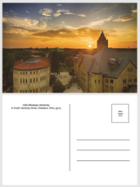 Image for the Postcard - Campus Sunset Aerial product