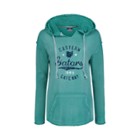 Image for the Hooded Terry Pullover Women's Distressed Screen product