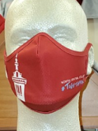 Image for the North Central College Red Face Mask product