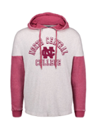 Image for the North Central College Angel Fleece Hoodie by MV Sport product