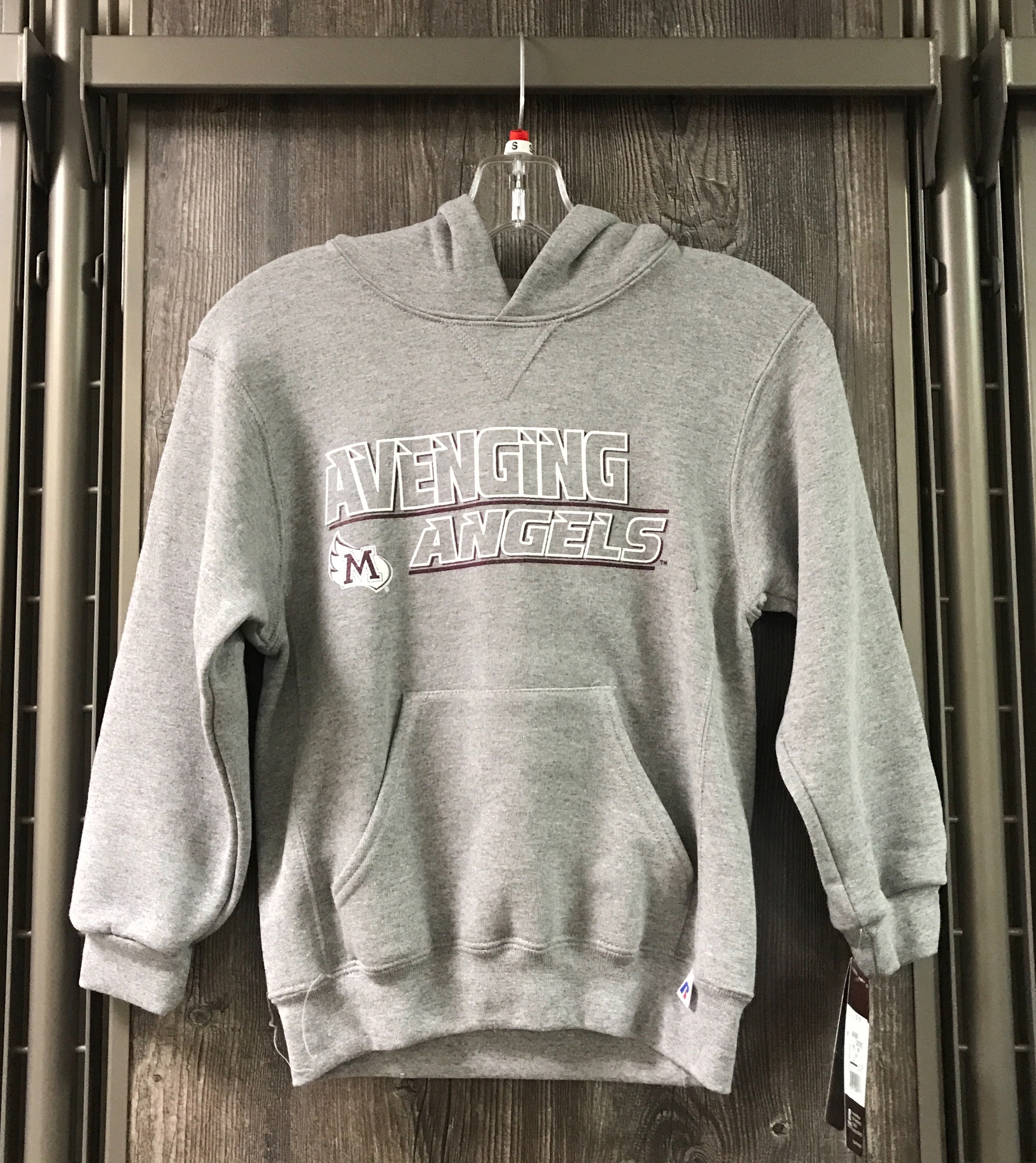 Image for the Hoodie Youth Oxford AA plus M-wing Russell product