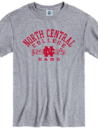 Image for the North Central College Band Tee shirts by New Agenda product