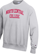 Image for the North Central College Reverse Weave Crew Neck Sweatshirt by Champion product