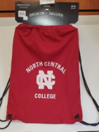 Image for the North Central College Jersey Mesh Drawstring Back Sack product