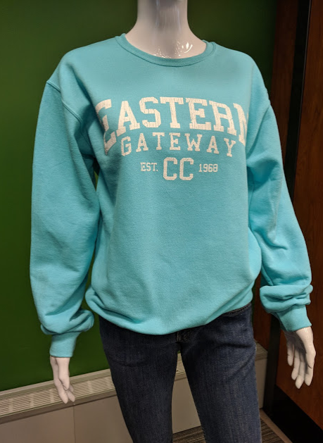 Image for the Crew Sweatshirt w/ Distressed EASTERN GATEWAY CC est date product