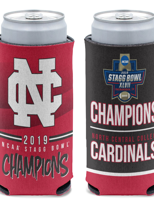Alternative Image for the North Central College Championship Can Coolers product