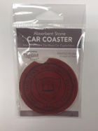 Image for the Car Coaster with School Seal product