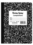 Image for the Roaring Spring College Ruled Composition Book product