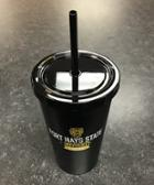 Image for the FHSU Journey Travel Cup With Straw, Plastic, Matte Black, Nordic product