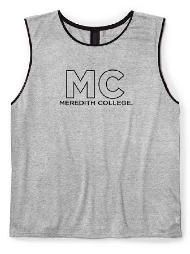 Image for the Mesh Tank Top, Platinum Gray product