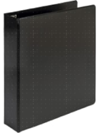 Image for the Samsill Value Storage Pocket Binder-white or black  1.5in product