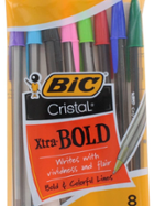 Image for the Bic Cristal Xtra Bold 8 Color Pen Pack product