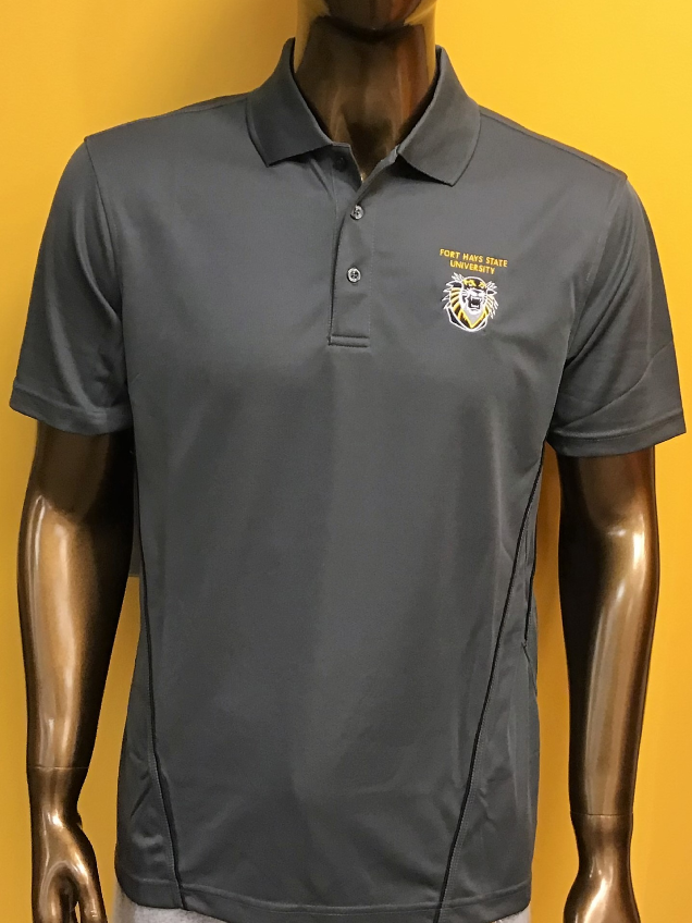 Image for the Men's Pique Polo, Dk Grey product