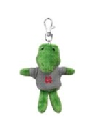Image for the North Central College Mini Animals Keychain w/ Grey Sweater product