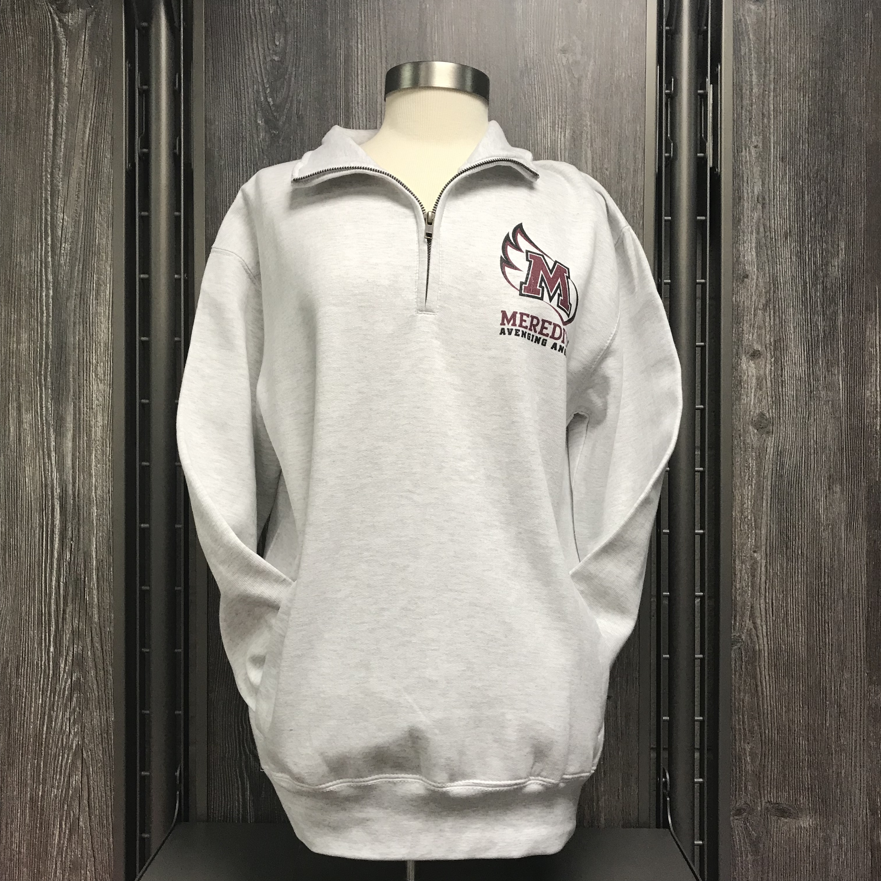 Image for the Classic Fleece 1/4 Zip, Ash Gray product