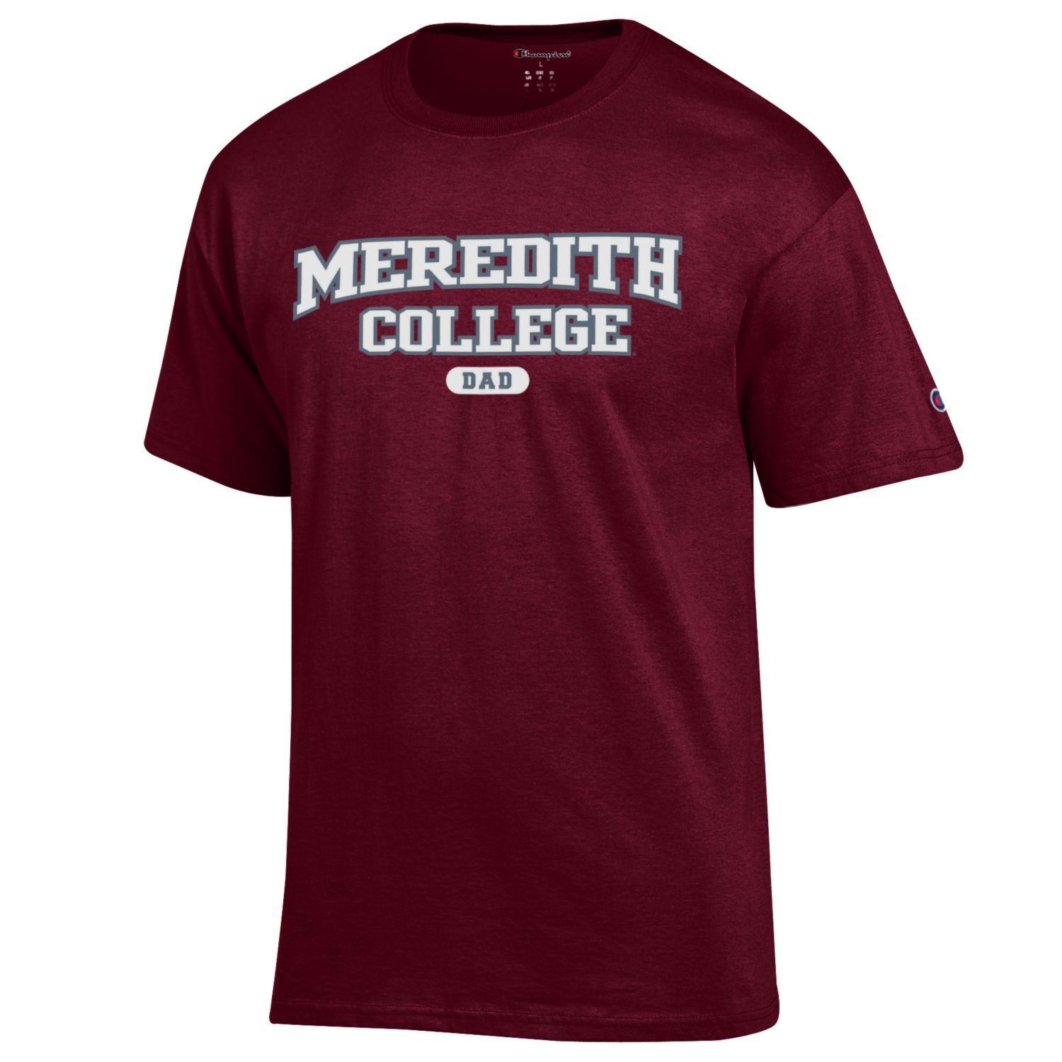 Image for the Meredith College Dad T-Shirt Champion product