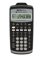 Image for the TI BA II Plus Business Calculator (Black) product