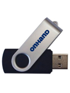 Image for the OnHand Swivel Pro 8gb Flash Drive(USB) product