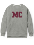 Image for the Academy Crew, Grey with Corduroy MC Applique product