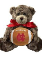 Image for the North Central College Charlie Jr Bear w/football product