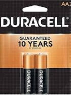 Image for the Duracell AA Battery Two Pack product