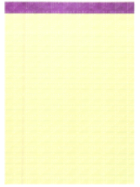 Image for the Roaring Springs Legal Pad (Canary) 50 Sheet product