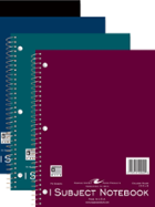 Image for the Roaring Springs Poly Cover 1 Subject Notebook Asst. Colors (Sold individually) product