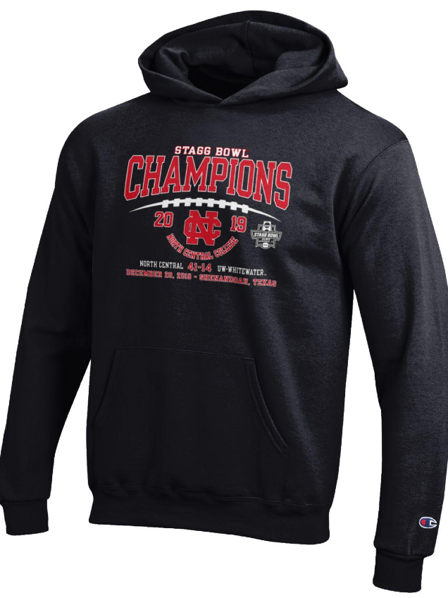 Alternative Image for the North Central College Youth - Championship Apparel in Black product