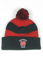 Image for the North Central College Rugby Stripe Hat with Pom by Legacy product