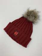Image for the North Central College Alps Knit cuff Pom Pom Beanie by Logofit product