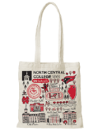 Image for the North Central College Canvas Tote - Julia Gash product