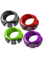 Image for the WordLock Cable Lock Asst 4ft 1Pk BP product