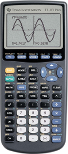 Image for the TI 83 Plus Graphing Calculator Texas Instruments product