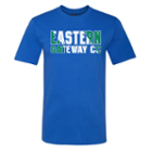 Image for the T-Shirt Ringspun Royal EASTERN GATEWAY CC Diagonal product