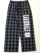 Image for the North Central College Flannel Pant w/ Charcoal/Blk Buffalo by Boxercraft product
