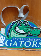 Image for the Acrylic Gator Ornament product